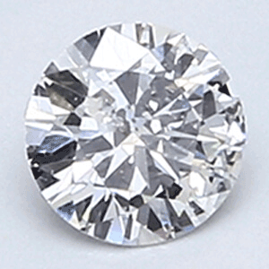 Picture of 0.25 carat, Round diamond D color SI2 clarity Certified by EGL/EGS