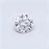 0.25 carat, Round diamond F color SI2 and certified by EGS/EGL, Stock 1505136