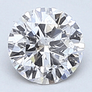 Picture of 0.23 carat, Round diamond E color SI2 clarity Enhanced