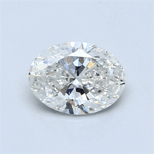 Picture of 0.69 Carats, Oval Diamond with  Cut, E Color, SI1 Clarity and Certified by EGL
