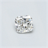 0.29 Carats, Cushion natural diamond with Ideal Cut, G Color, SI1 Clarity and Certified By CGL, Stock 1657783