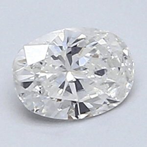 Picture of 0.31 carat, Oval diamond E color VS1 and certified by CGL