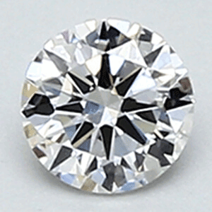 Picture of 0.22 carat, Round diamond F color VS1 clarity and certified be EGS/EGL