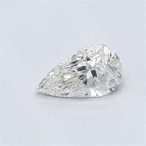 Picture of 0.37 Carats, Pear Diamond with Very Good Cut,H Color, VS1 Clarity and Certified By CGL