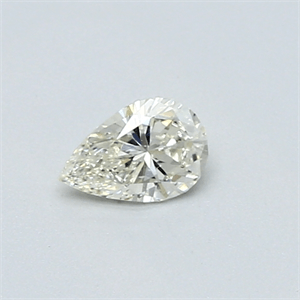 Picture of 0.27 Carats, Pear Diamond with Very Good Cut, I Color, VVS2 Clarity and Certified By CGL