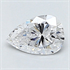 0.23 Carats, Pear Diamond with Very Good Cut, D Color, VS2 Clarity and Certified By CGL, Stock 370381