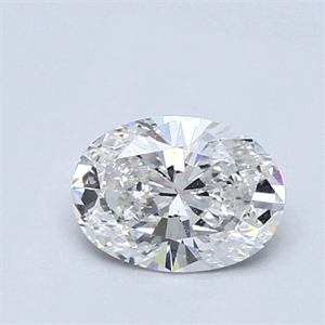 Picture of 0.74 Carats, Oval Diamond with Very Good Cut, E Color, VS1 Clarity and Certified By CGL