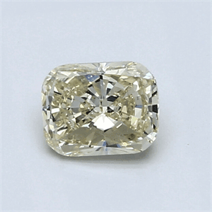 Picture of 0.77 Carats, Cushion Diamond with Very Good Cut, L, VS1 Clarity and Certified By IGL