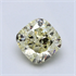 1.06 Carats, Cushion Diamond, P color VVS2 Clarity and certified by CGL, Stock 370571