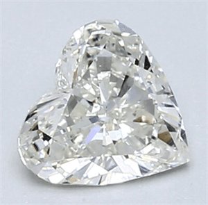 Picture of 0.55 Carats, Heart Diamond with Very Good Cut, G Color, VS1 Clarity and Certified By EGL
