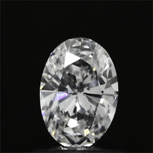 Picture of 0.44 Carats, Oval Diamond with  Cut, E Color, VS1 Clarity and Certified by GIA