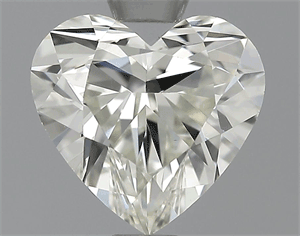 Picture of 0.78 Carats, Heart Diamond with  Cut, G Color, VVS2 Clarity and Certified by EGL
