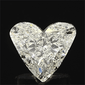 Picture of 0.95 Carats, Heart Diamond with  Cut, H Color, SI2 Clarity and Certified by EGL