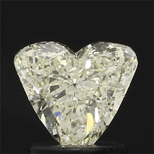Picture of 1.00 Carats, Heart Diamond with  Cut, H Color, SI1 Clarity and Certified by EGL