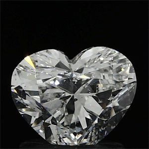 Picture of 1.00 Carats, Heart Diamond with  Cut, F Color, SI1 Clarity and Certified by EGL