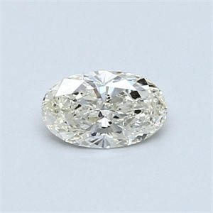 Picture of 0.38 Carats, Oval Diamond with  Cut, H Color, SI1 Clarity and Certified by EGL