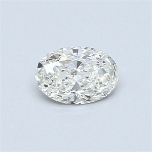 Picture of 0.35 Carats, Oval Diamond with  Cut, F Color, SI1 Clarity and Certified by EGL