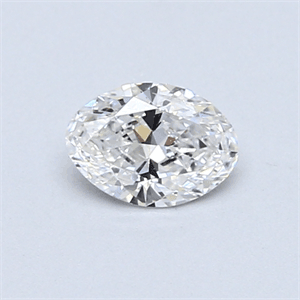 Picture of 0.42 Carats, Oval Diamond with  Cut, D Color, SI1 Clarity and Certified by EGL