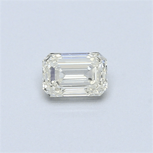 Picture of 0.30 Carats, Emerald Diamond with  Cut, H Color, VVS1 Clarity and Certified by EGL