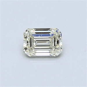 Picture of 0.36 Carats, Emerald Diamond with  Cut, I Color, VS2 Clarity and Certified by EGL