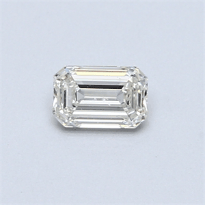 Picture of 0.31 Carats, Emerald Diamond with  Cut, G Color, VS1 Clarity and Certified by EGL