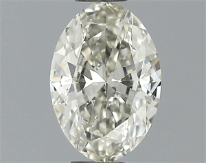 Picture of 0.50 Carats, Oval Diamond with  Cut, H Color, VVS2 Clarity and Certified by EGL